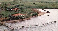 Vista aérea Clube de Pesca